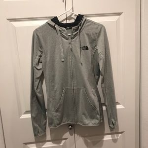 The north face hoodie jacket! Size S/P